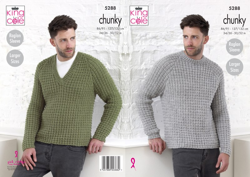 KC 5288 Sweaters in chunky