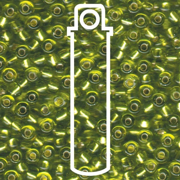 Beads S/L Chartreuse 6/0