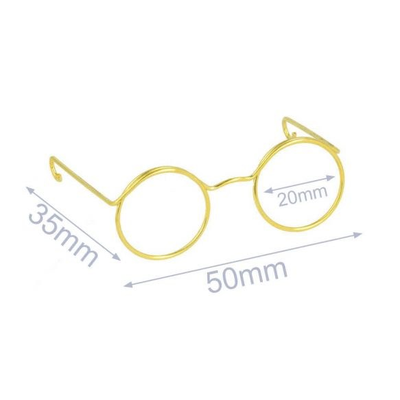 Glasses for stuffed toys 5cm