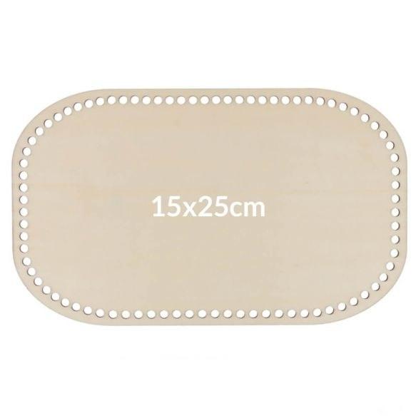 Bag Base Wooden 15x25cm