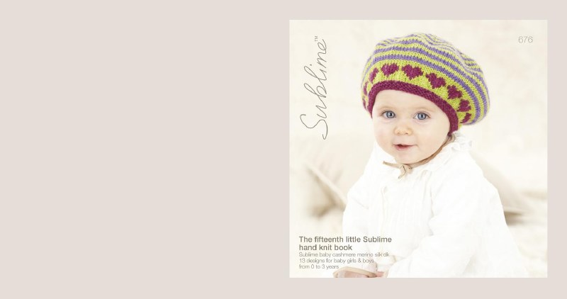 Sublime 676 15th Hand Knit Bk