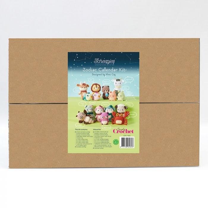 Scheepjes Zodiac Calendar Kit