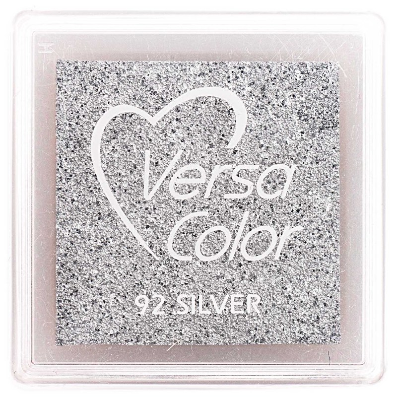 Small Stamp Pad Silver