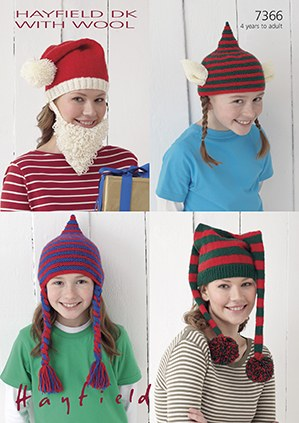 Hayfield 7366 Hats