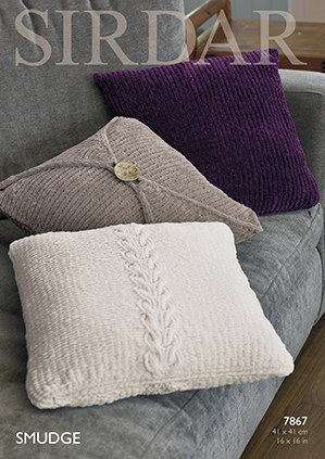 Sirdar 7867 Cushions in Smud d