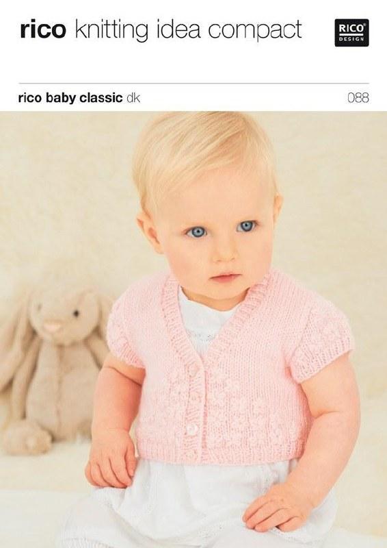 Rico 088 Emb Cardigans in dk