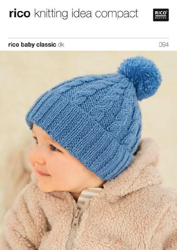 Rico 094 Hats in dk