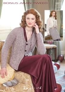 Hayfield 9802 Bonus Aran Tweed
