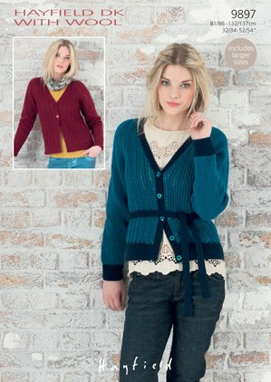 Hayfield 9897 DK With Wool