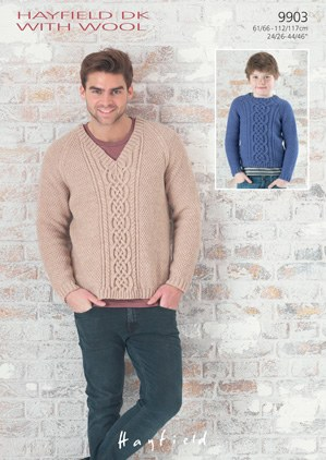 Hayfield 9903 DK With Wool