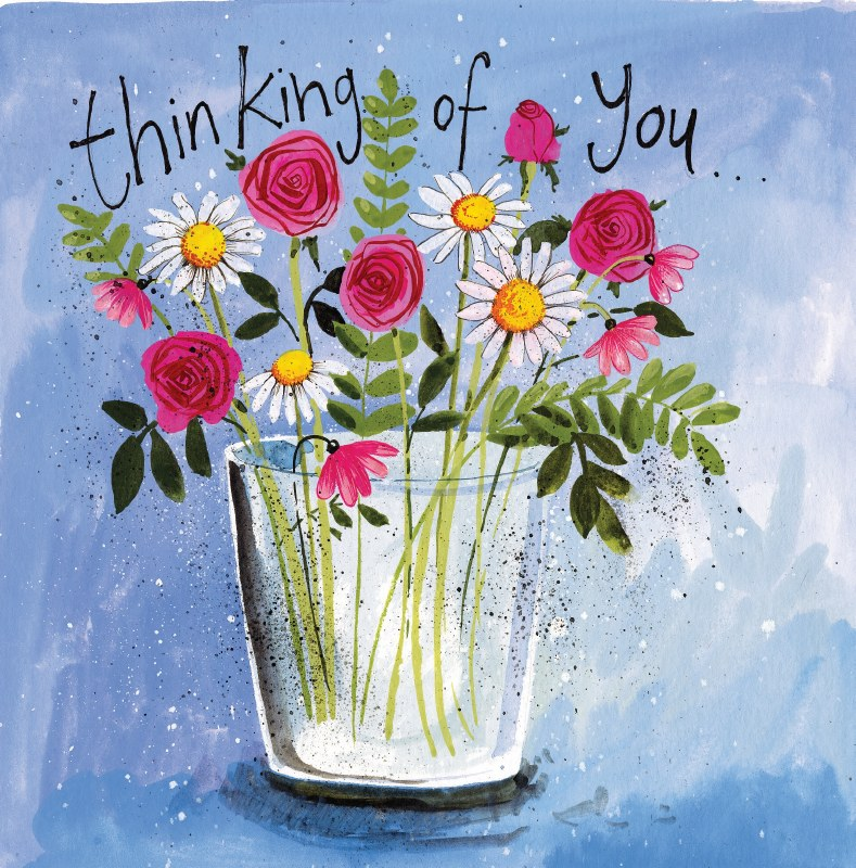 Alex Clark Vase of Flowers