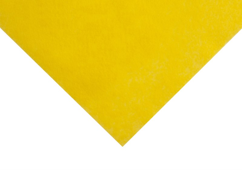 Acrylic Felt Square Yellow