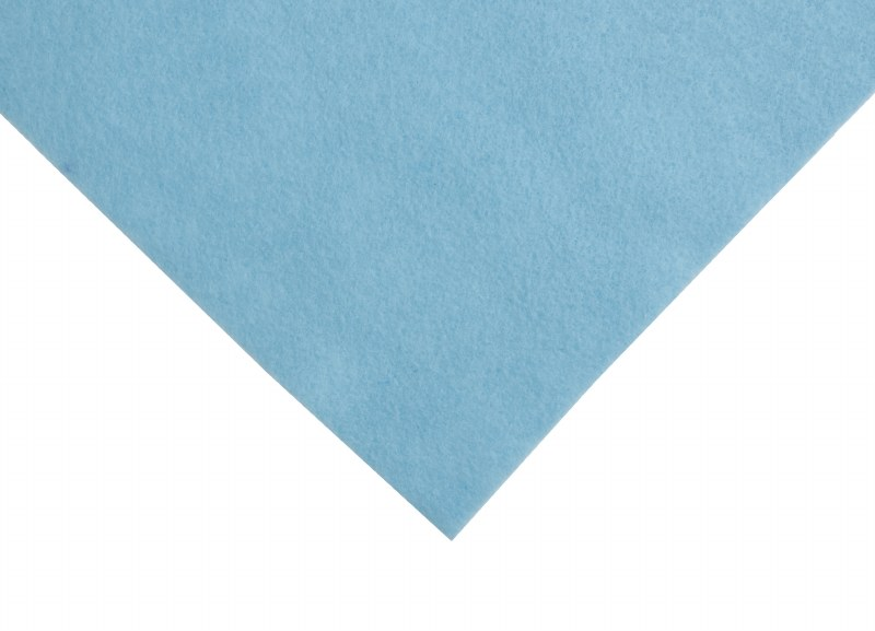 Acrylic Felt Square Light Blue