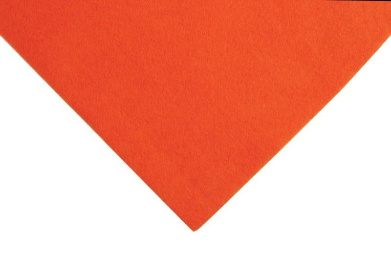Acrylic Felt Square Orange