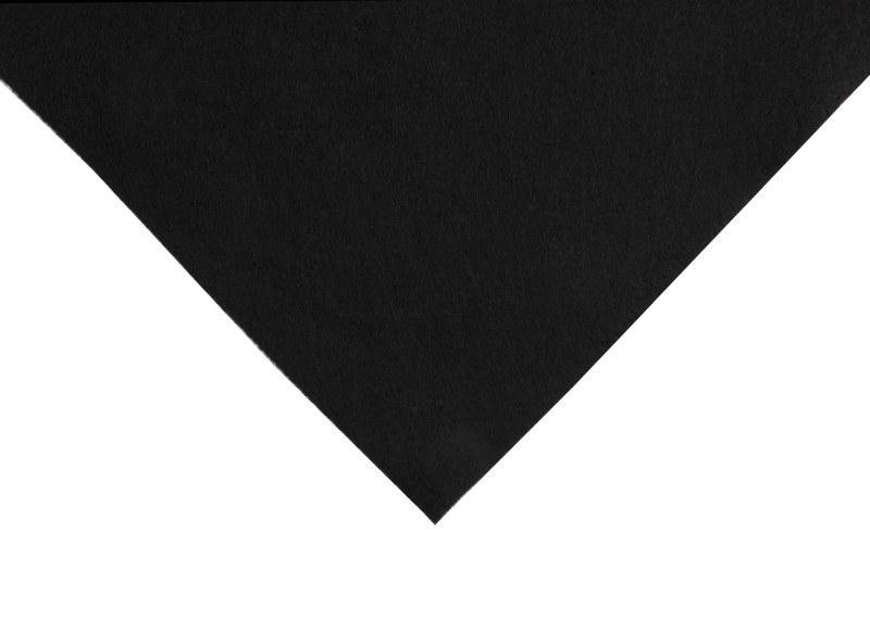 Acrylic Felt Square Black