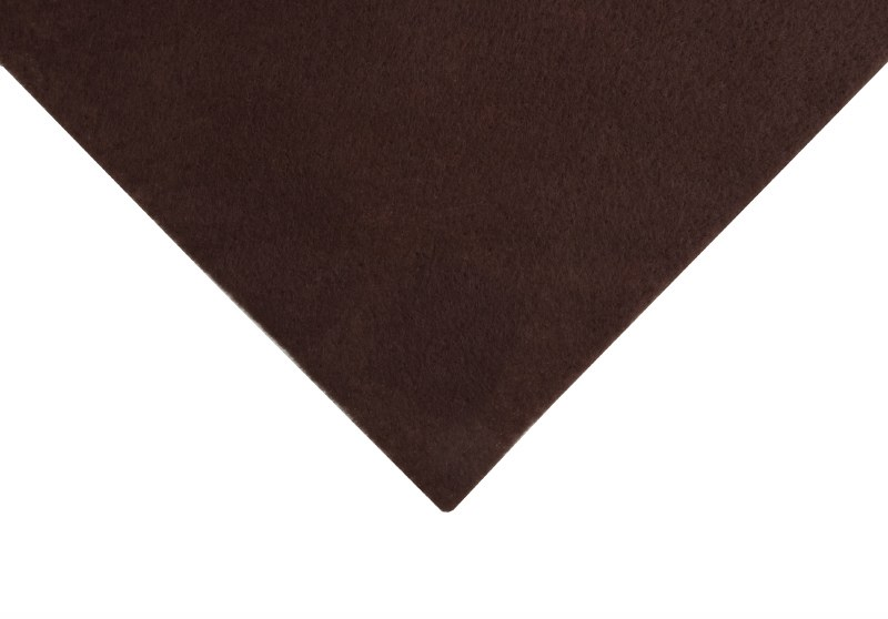 Acrylic Felt Square Brown