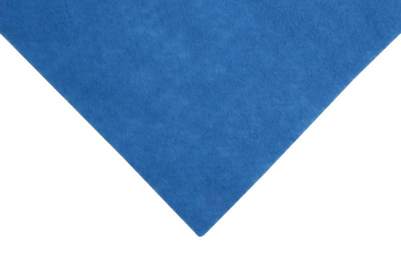 Acrylic Felt Square C Blue