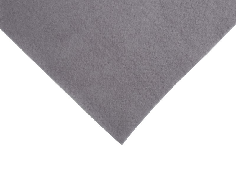 Acrylic Felt Square Grey