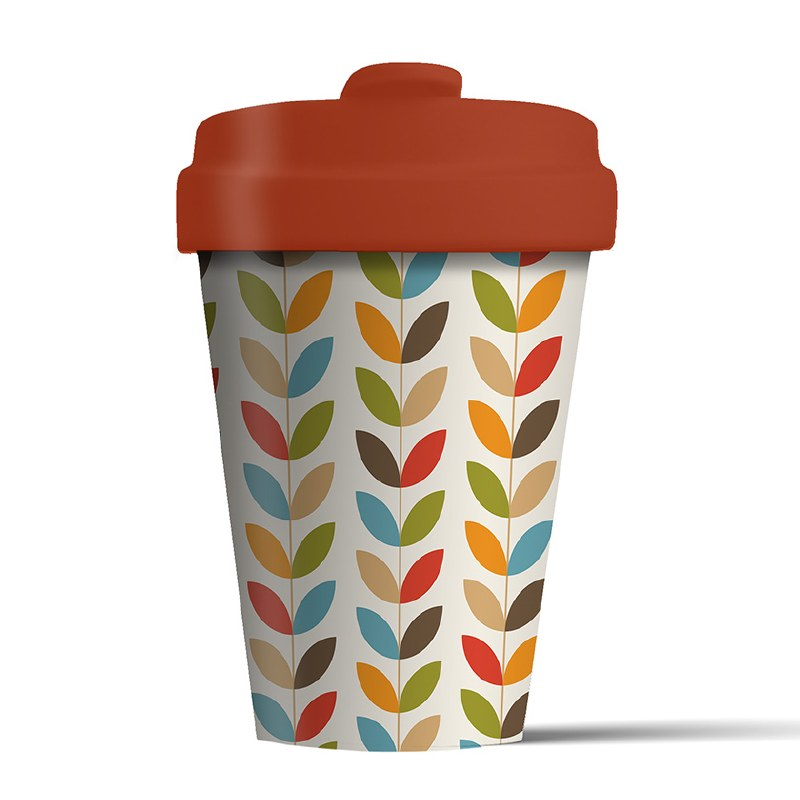 Bamboo Cup Bright Leaves