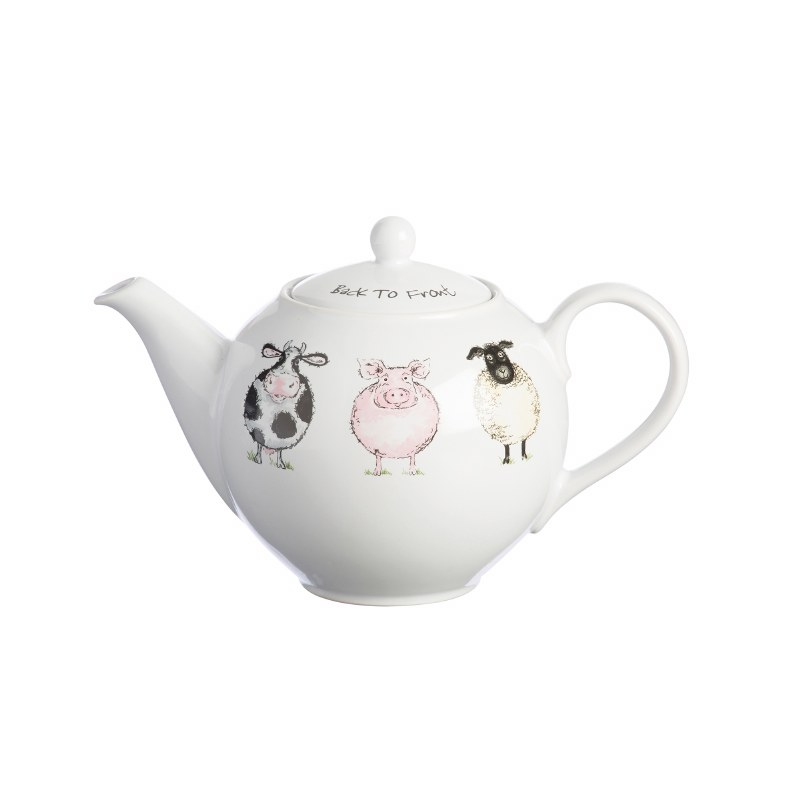Back To Front Teapot