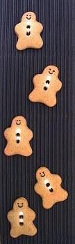 Incomp Buttons L185 Gingerbrea