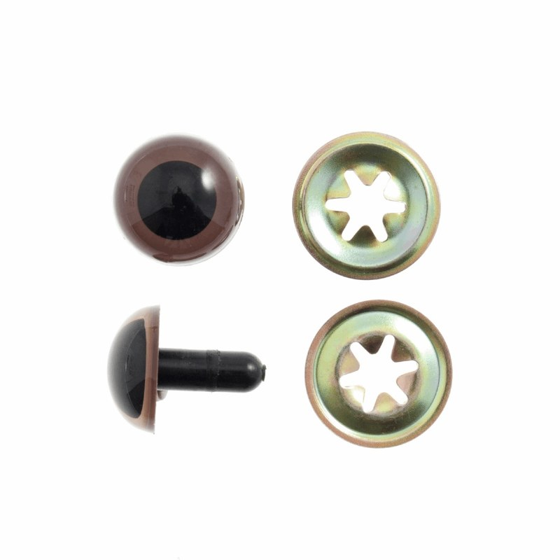 Safety Eyes 10mm Brown Trimits