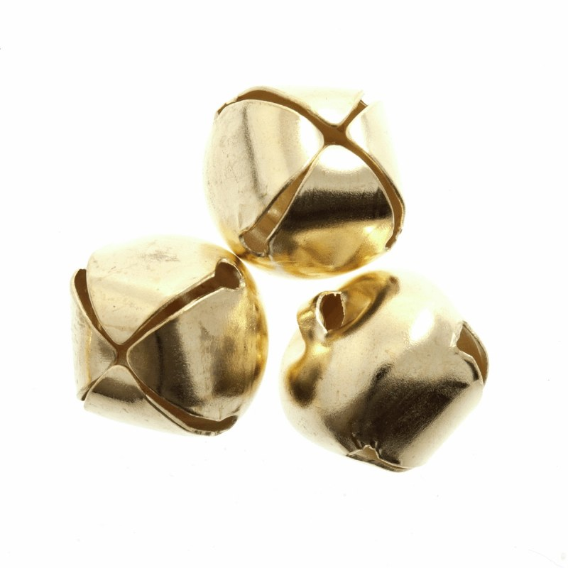 Bells 6mm Gold