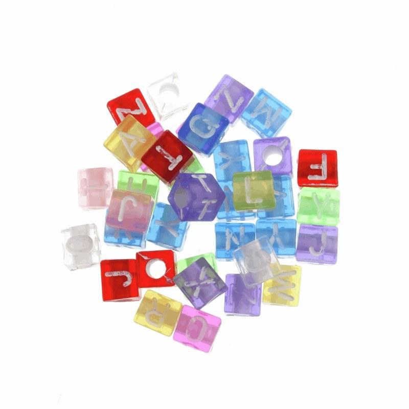 Alphabet Beads 100pcs