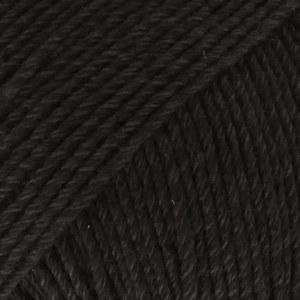 Drops Cotton Merino 02 Black