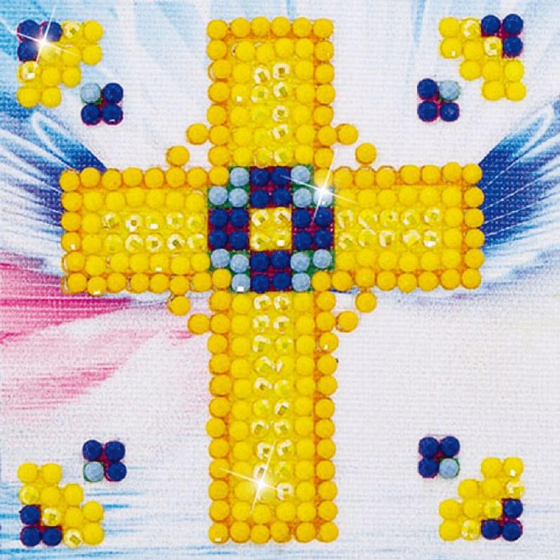 Diamond Dotz Kit Golden Cross
