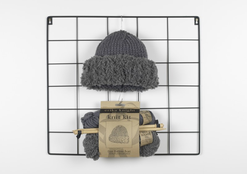 EK Knit Kit Fur Brim Hat Prett