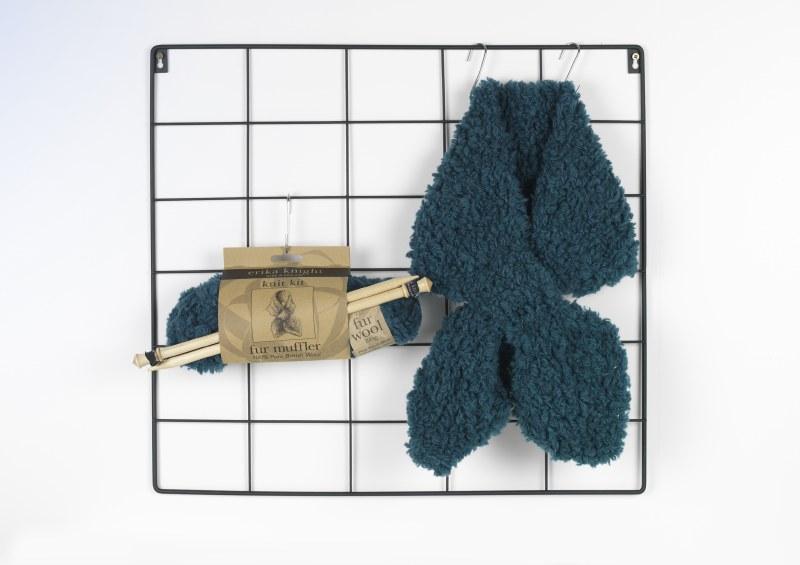 EK Knit Kit Fur Muffler Flax