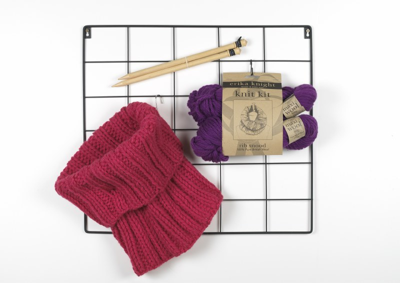 EK Knit Kit Rib Snood Storm