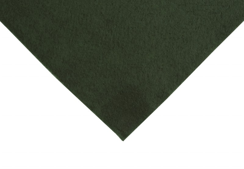 Felt 90cm x 50cm Holly green