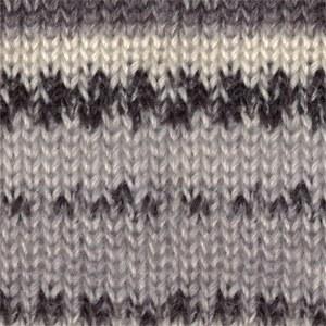 Drops Fabel 905 Grey/Black Mix
