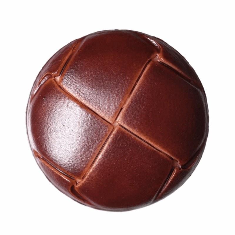 Button Football Russet 23mm