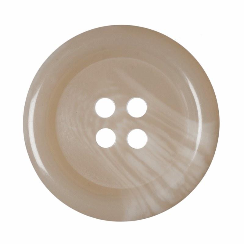 Button - Mens Jacket Ecru 23mm