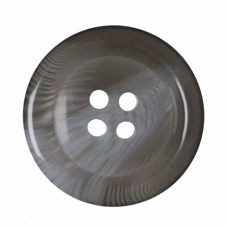 Button - Mens Jacket Grey
