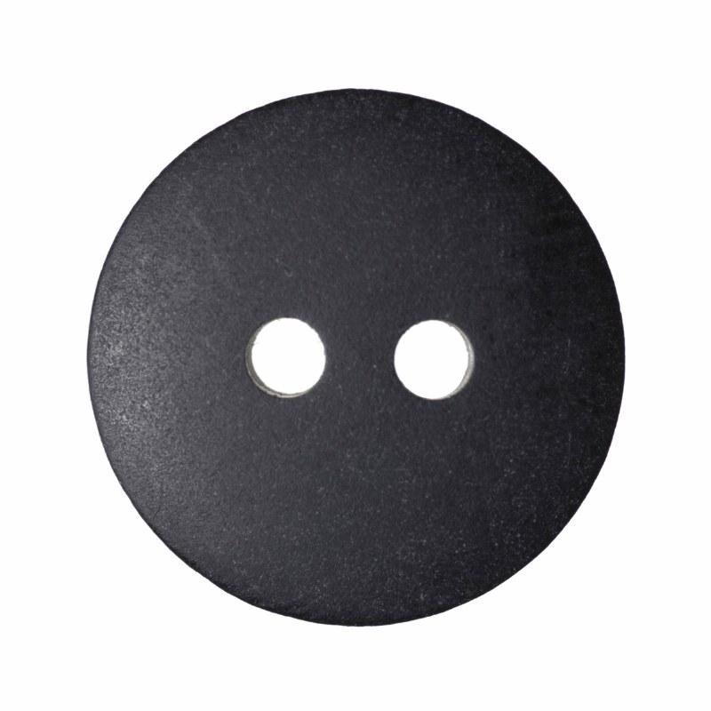 Button Matt Smartie 15mm Black