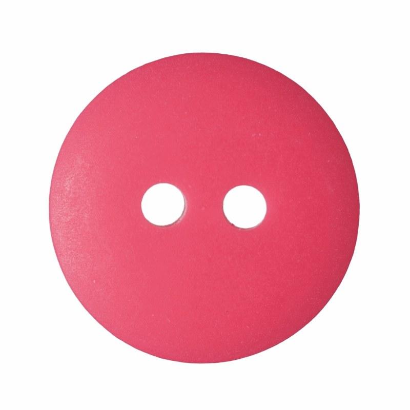 Button Matt Smartie 15mm Red