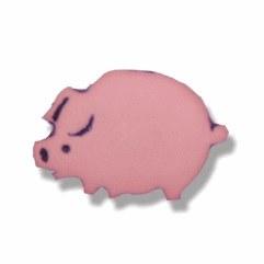 Button - Pig Shank 15mm