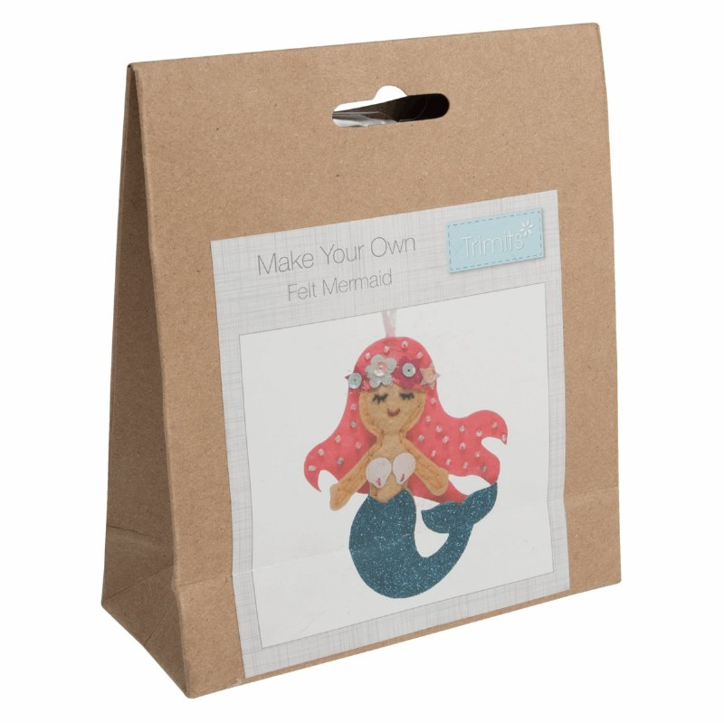 Felt Decoration Kit Mermaid