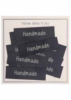 "Woven label ""handmade"""