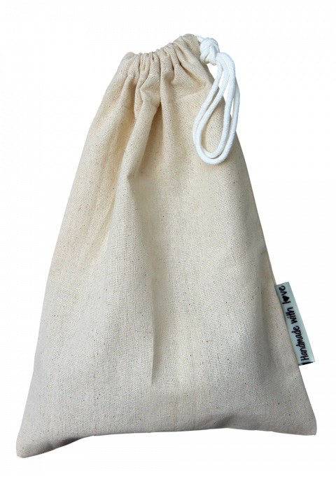 """GH Canvas Bag """"..with love"""" sm"""