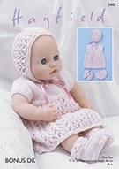 Hayfield 2482 Baby Doll Dress