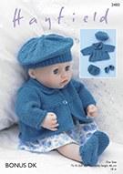 Hayfield 2483 Baby Doll Jacket
