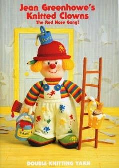Jean Greenhowe Knitted Clowns