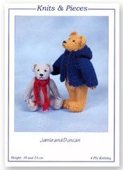 Jamie and Duncan Bear Pattern