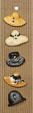 Incomp Buttons L214 Hats