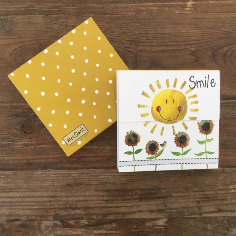 Alex Clark Mag Notes Smile